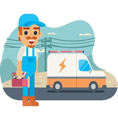 المشاكل التي نحتاج فيها لخدمة كهربائي سيارات