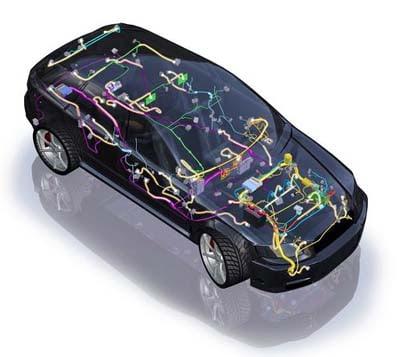دورة الكهرباء في السيارة